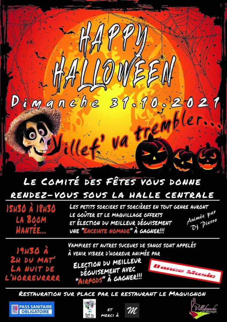 Halloween du comité des fêtes permanent
